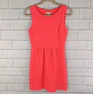 J. Crew Coral Sleeveless Dress